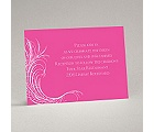 Artistic Flourishes - Reception Card
