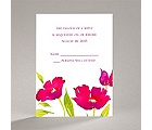 Bright Blossoms - Amethyst - Response Card and Envelope