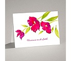 Bright Blossoms - Amethyst - Note Card and Envelope