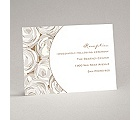 Mod Roses - Latte - Reception Card