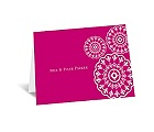 Floral Medallions - Note Card and Envelope