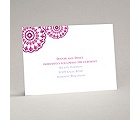 Floral Medallions - Reception Card