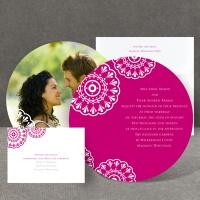 Floral Medallions - Invitation
