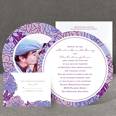Petal Power - Grapevine - Invitation