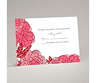 Petal Power - Posie Pink - Response Card and Envelope