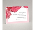 Petal Power - Posie Pink - Reception Card