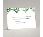 Diamond Flourishes - Response Card and Envelope