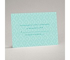 Ikat Elegance - Granny Apple - Response Card and Envelope