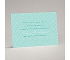 Ikat Elegance - Granny Apple - Reception Card