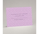 Ikat Elegance - Orchid - Response Card and Envelope