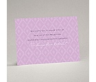 Ikat Elegance - Orchid - Reception Card