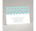 Sassy Scallops - Reception Card