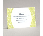 Surrounded in Damask - Limelight - Reception Card