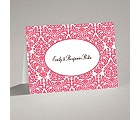 Surrounded in Damask - Posie Pink - Note Card and Envelope