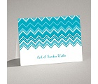 Custom Chevron - Note Card and Envelope