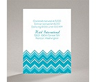 Custom Chevron - Reception Card