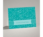 Flowery Filigree - Note Card and Envelope