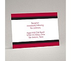Bold Bands - Reception Card