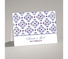 Romantic Mosaic - Grapevine - Note Card and Envelope