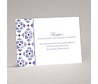 Romantic Mosaic - Grapevine - Reception Card
