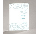 Dotted Swirls - Note Card and Envelope