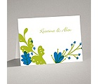 Funky Floral - Malibu - Note Card and Envelope