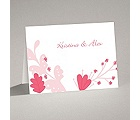 Funky Floral - Posie Pink - Note Card and Envelope