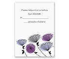 Modern Wildflowers - Grapevine - Response Card and Envelope