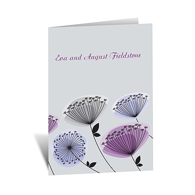 Modern Wildflowers - Grapevine - Note Card and Envelope