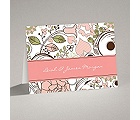 Whimsy Flowers - Note Card and Envelope