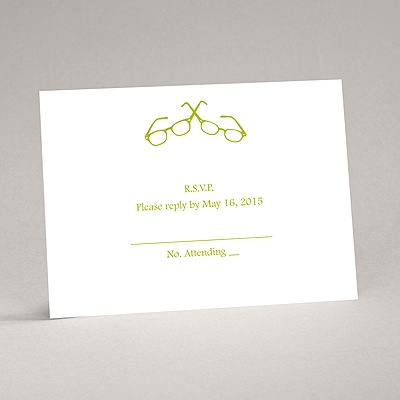 Spectacular Chic - Response Card and Envelope