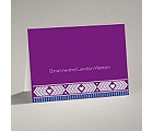 Tribal Hearts - Grapevine - Note Card and Envelope