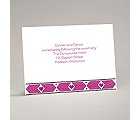 Tribal Hearts - Grapevine - Reception Card