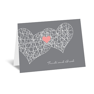 Heart Web - Note Card and Envelope