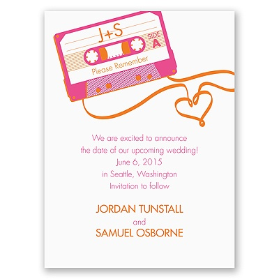 Love Mix - Save the Date Card