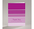 Ombre Stripes - Note Card and Envelope