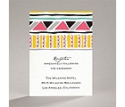 Tribal Patterns - Reception Card
