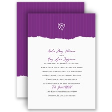 Mrs. and Mrs. - Invitation