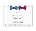 Bow Ties - Response Card and Envelope