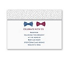 Bow Ties - Reception Card