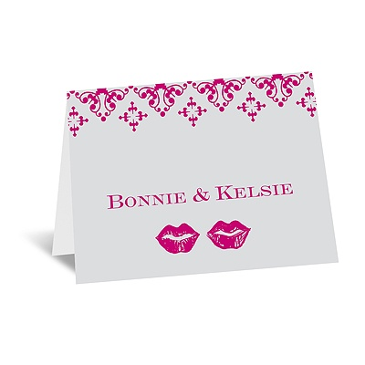 Smooches - Note Card and Envelope