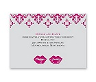 Smooches - Reception Card