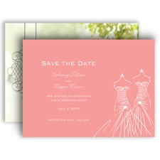 Glamour Brides - Save the Date Card