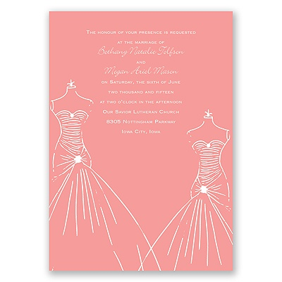 Glamour Brides - Invitation
