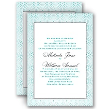 Designer Dots - All in One Invitation