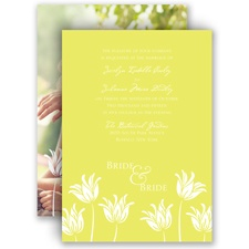 Blossoming Brides - Invitation