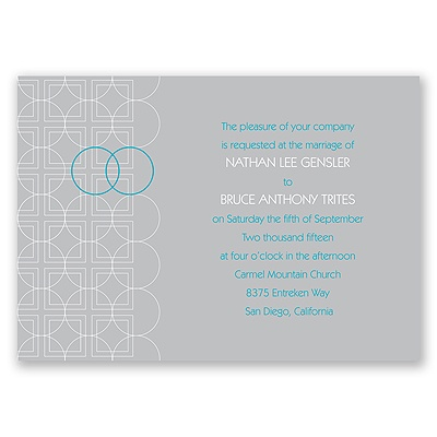 Distinguished Rings - Invitation