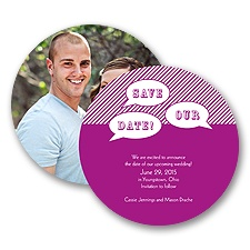 Say It - Save the Date Card