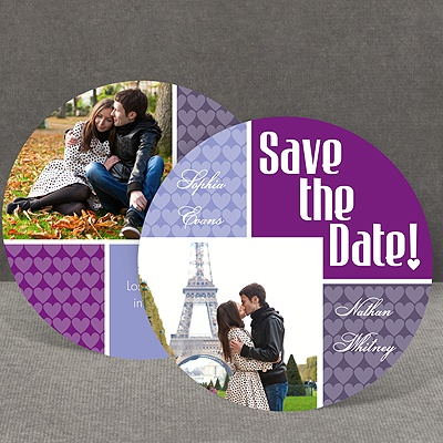 Heart This - Grapevine - Save the Date Card