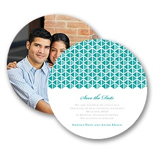 Tiny Triangles - Save the Date Card